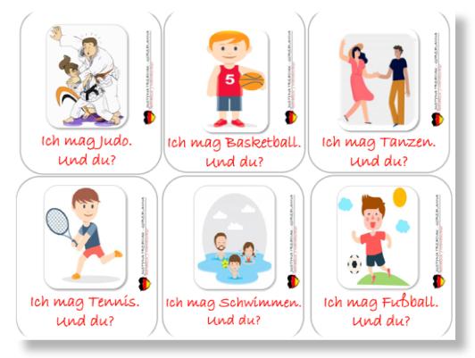 7 - Temat Freizeit na lekcji z dziećmi