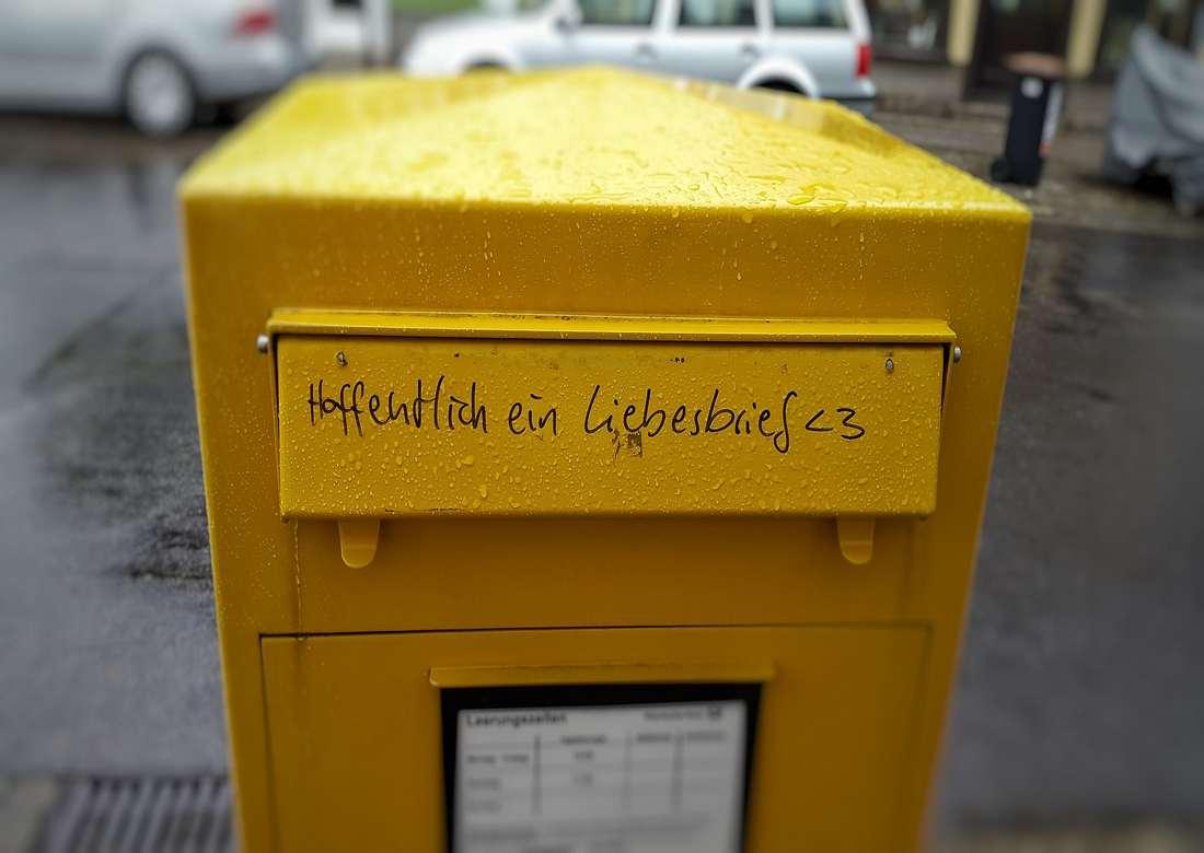mailbox 818921 1920 - Rekcja czasowników niemieckich AN część 2
