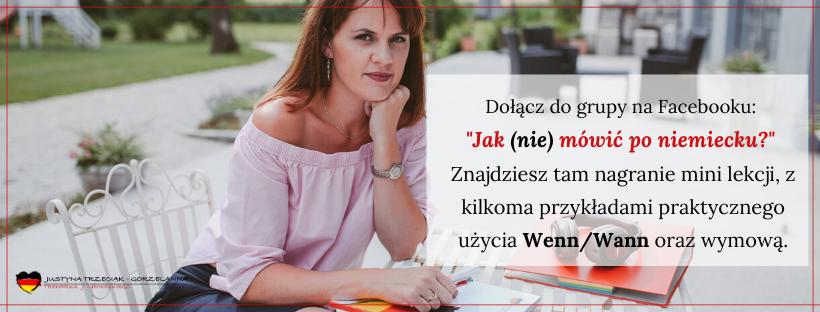 blog wann wenn fb 1 - Zdania z Wann oraz Wenn